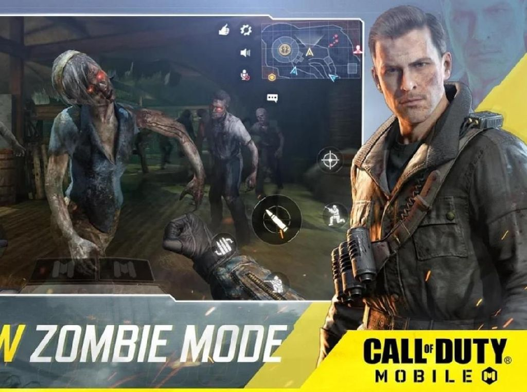 Awas! Para Zombie Datang Menyerang Call of Duty: Mobile