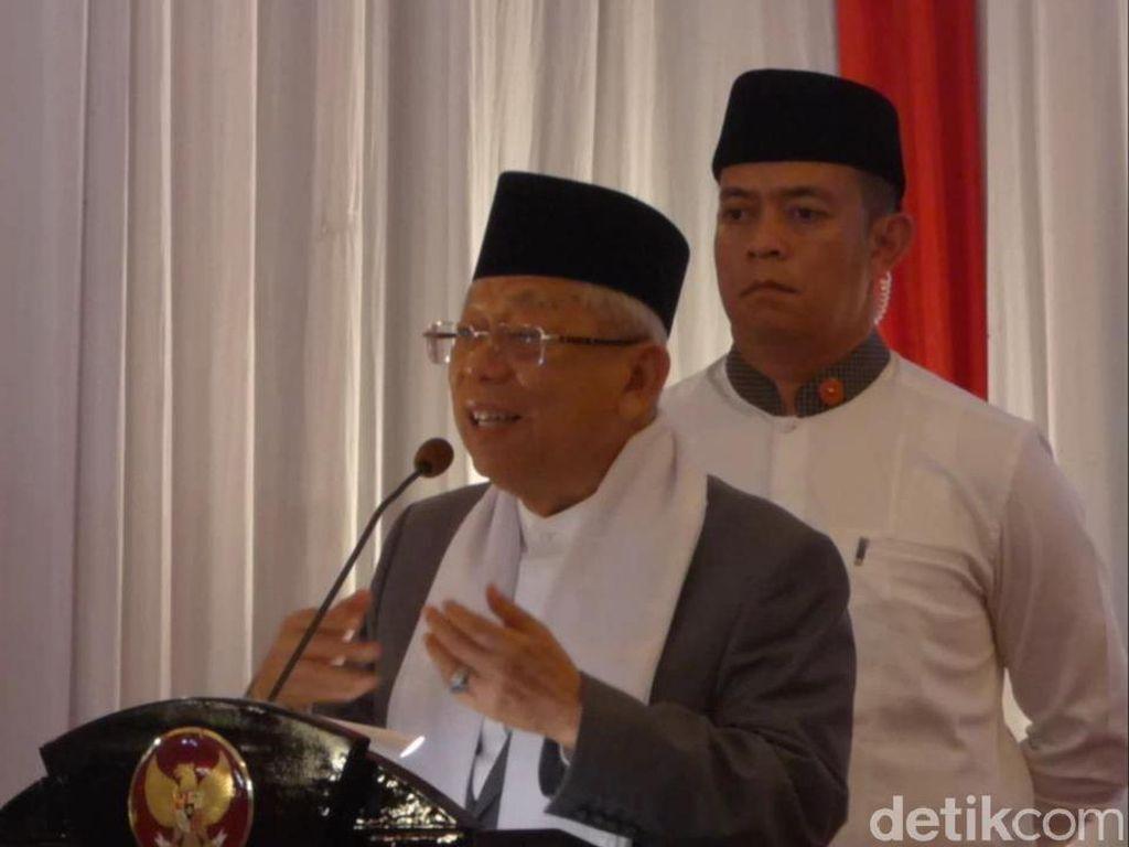 Maruf Tunjuk 8 Staf Khusus, Ada Eks Menristek M Nasir-Ketua PBNU