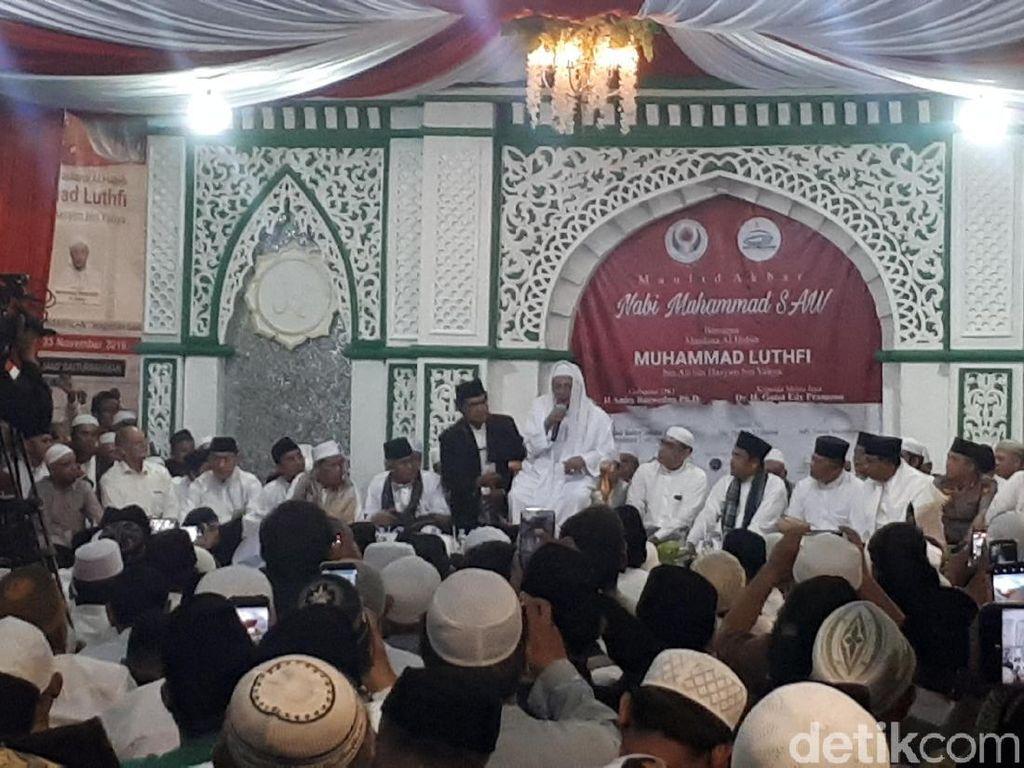 Isi Maulid Nabi Muhammad, Habib Luthfi Ingatkan Sejarah dan Nasionalisme