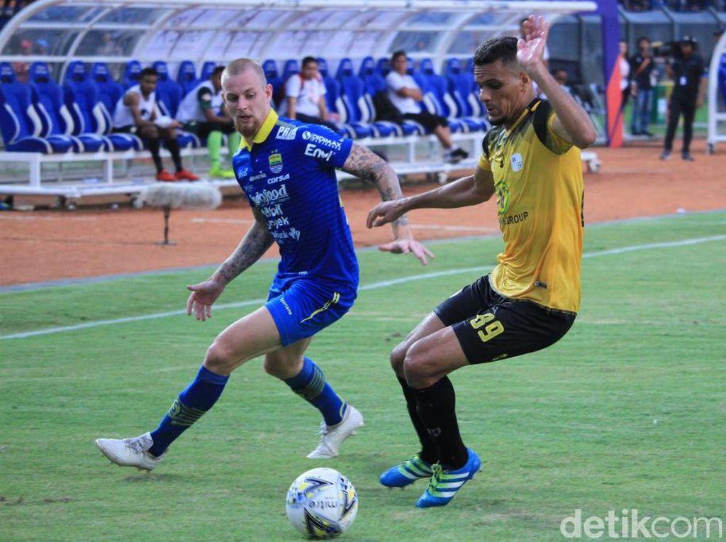 Klasemen Liga 1: Persib Gagal ke Lima Besar