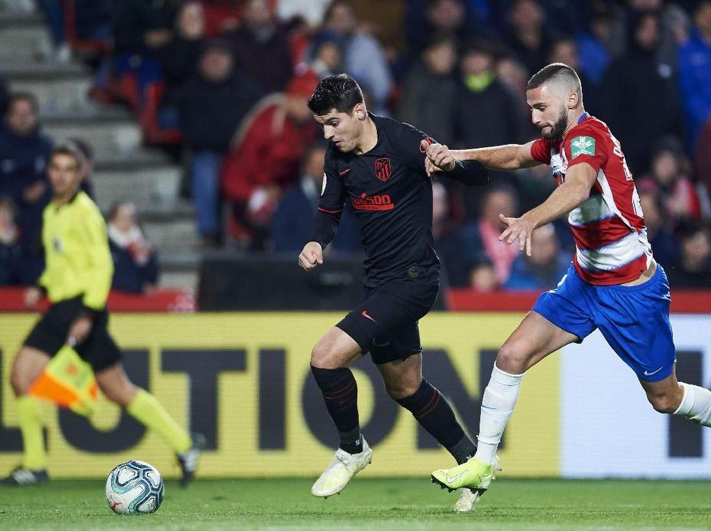 Sempat Unggul, Atletico Madrid Ditahan Granada 1-1