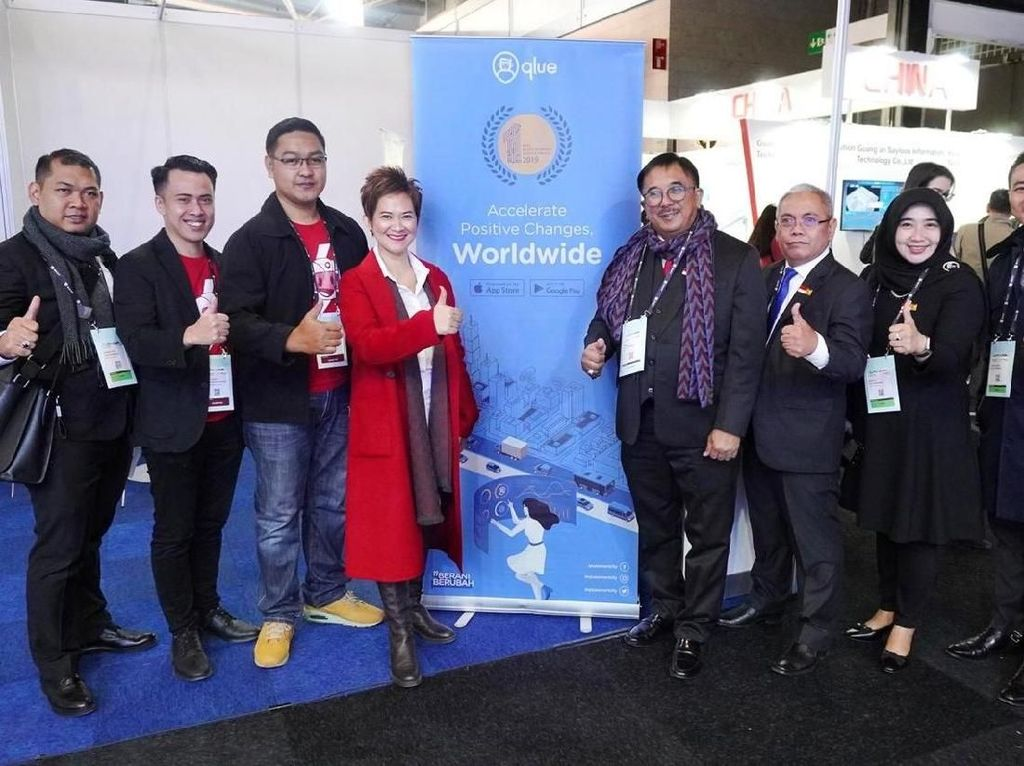 Qlue Tampil di Smart City Expo World Congress 2019 Barcelona