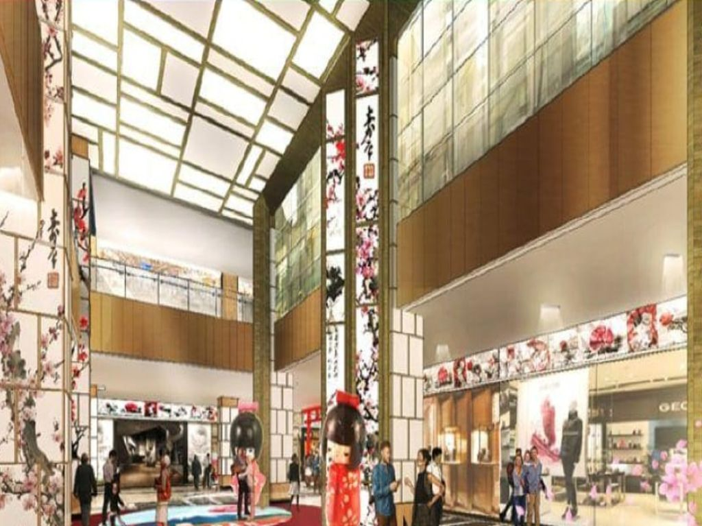 Bergaya Jepang, Transpark Mall Bintaro Diresmikan Desember 2019