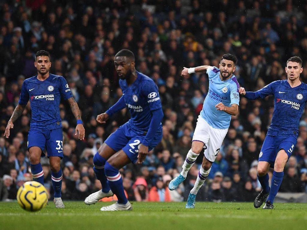 Man City Vs Chelsea: The Citizens Menang Tipis 2-1