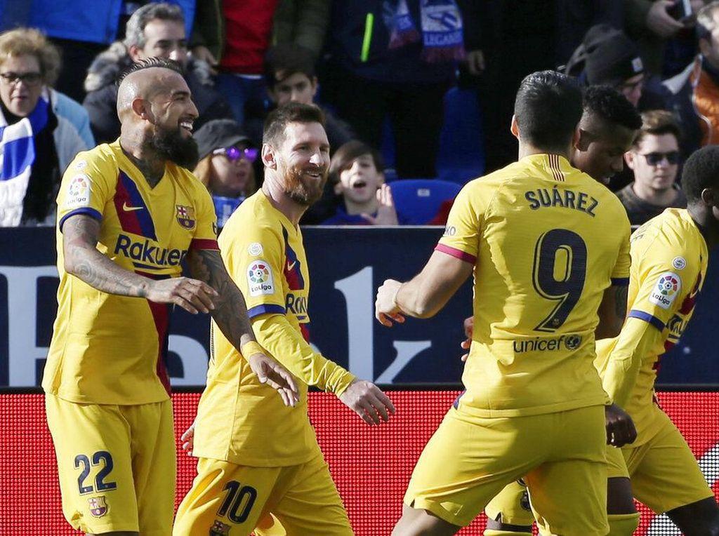 Valverde Akui Barcelona Kesulitan, Kritik Lapangan Leganes