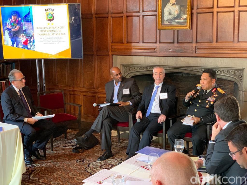 Jadi Pembicara di AS, Kapolda Bali Bicara Soal Penanganan Terorisme