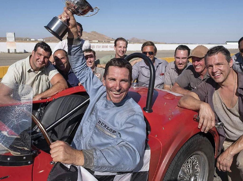 Christian Bale Jago Ngebut dan Berkuda Lewat Film