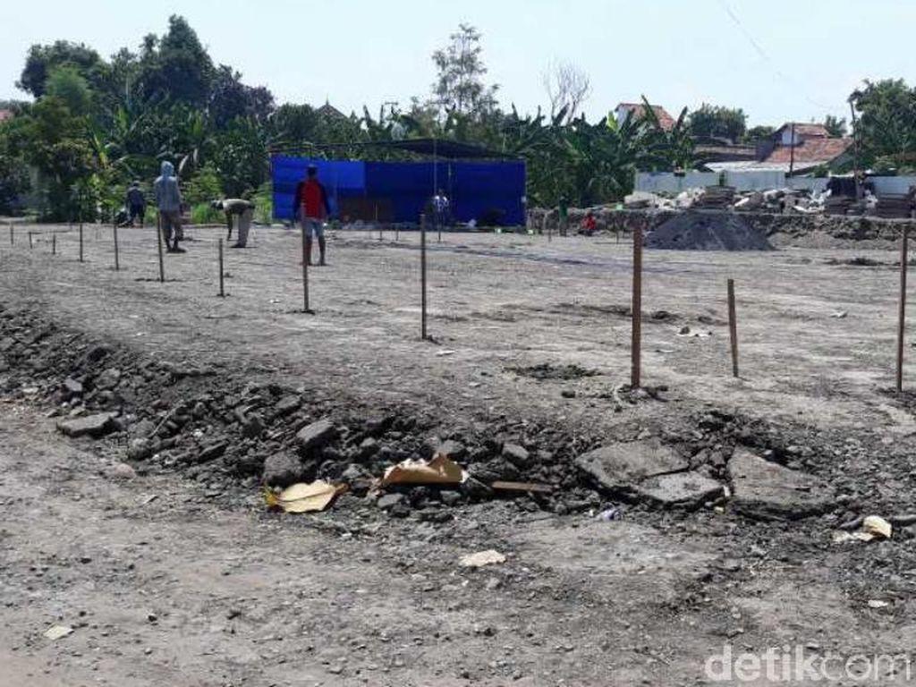 Pembangunan Sekolah Darurat SDN Gentong Pasuruan Ditarget Selesai 3 Bulan