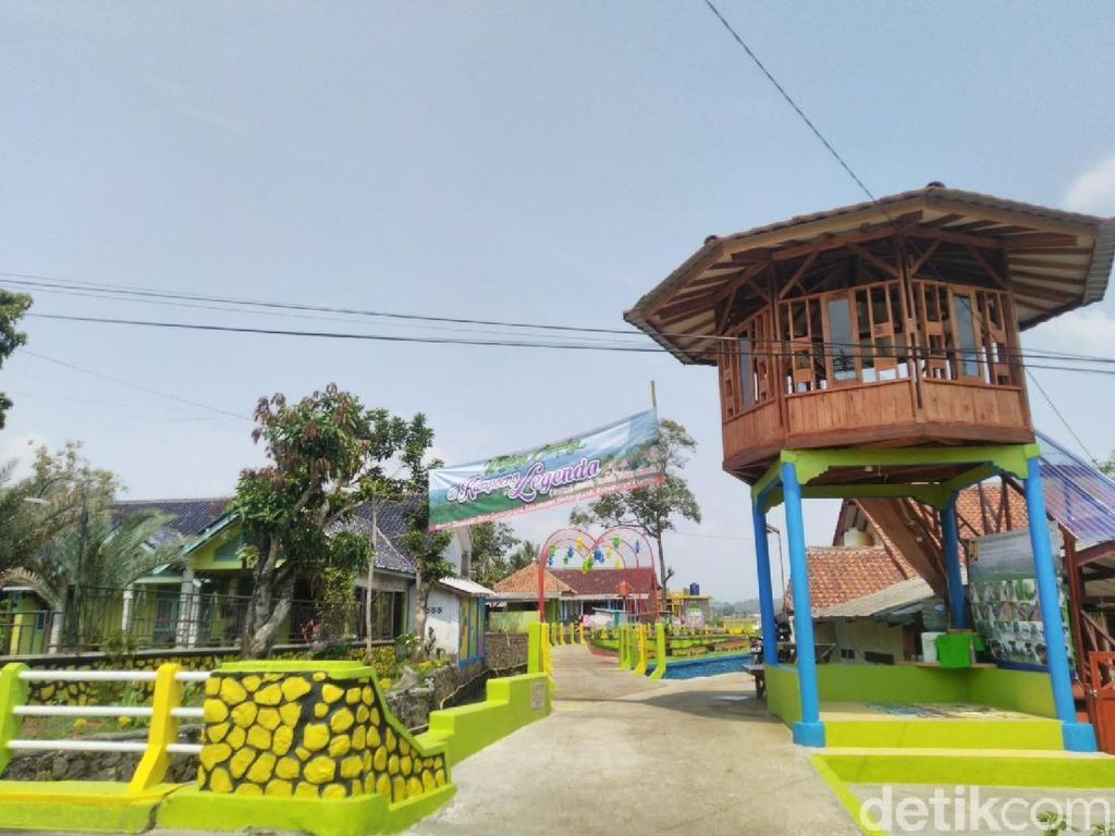 Foto: Dulu Kumuh, Kini Kampung di Ciamis Ini Lebih Berwarna