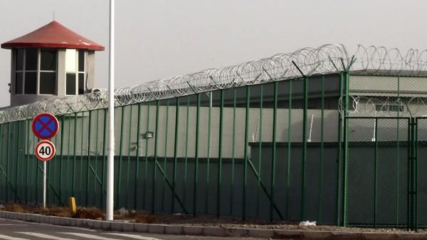 Ilustrasi: Kamp Etnis Uighur (AP Photo)