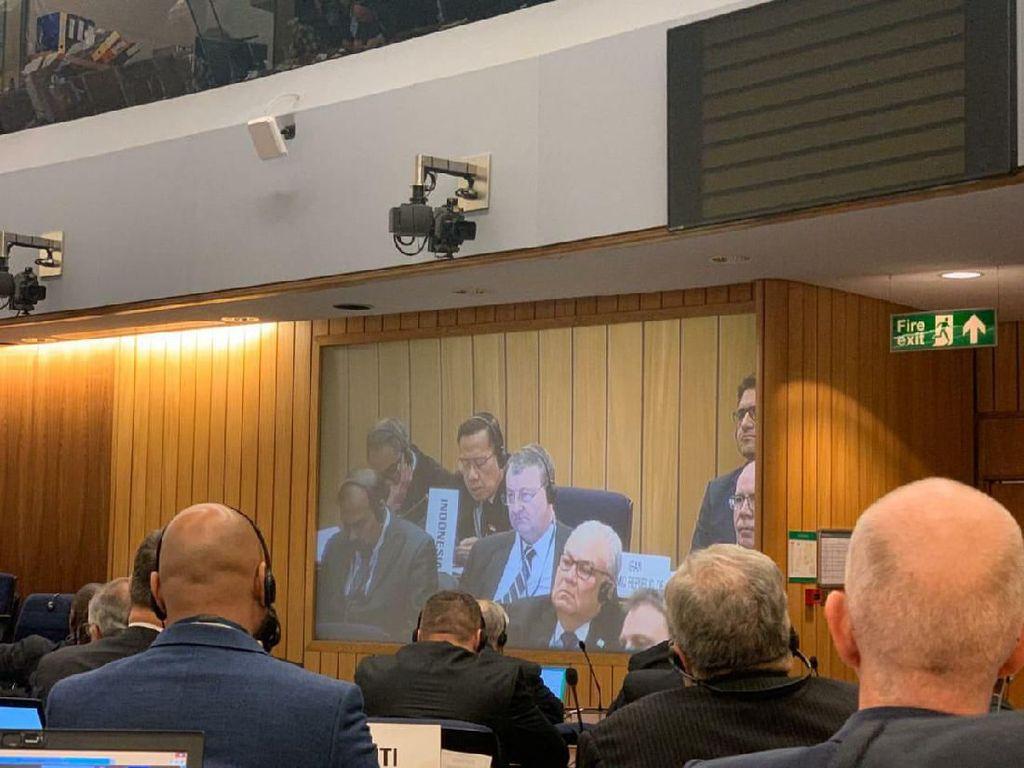RI Berjuang Jadi Anggota Dewan Organisasi Maritim Internasional