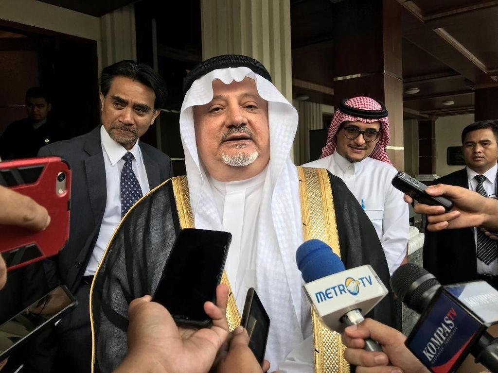 Safari Dubes Saudi ke Pejabat-pejabat RI