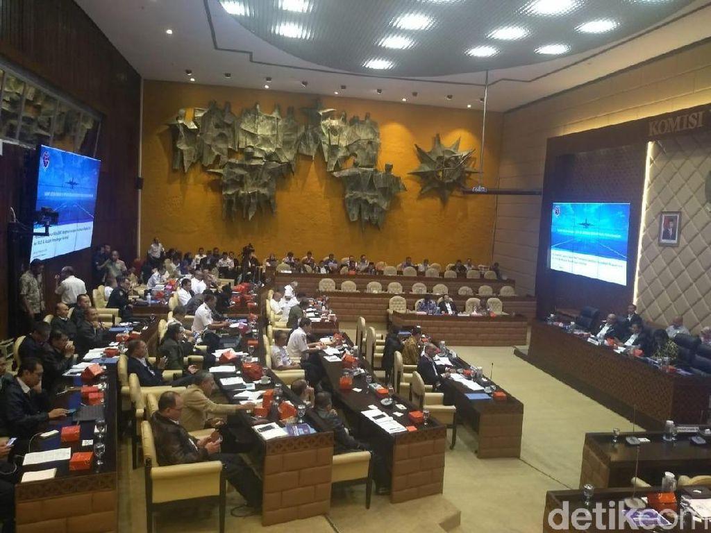 Menhub-Komisi V DPR Doa Bersama untuk Korban Tewas Lion Air PK-LQP