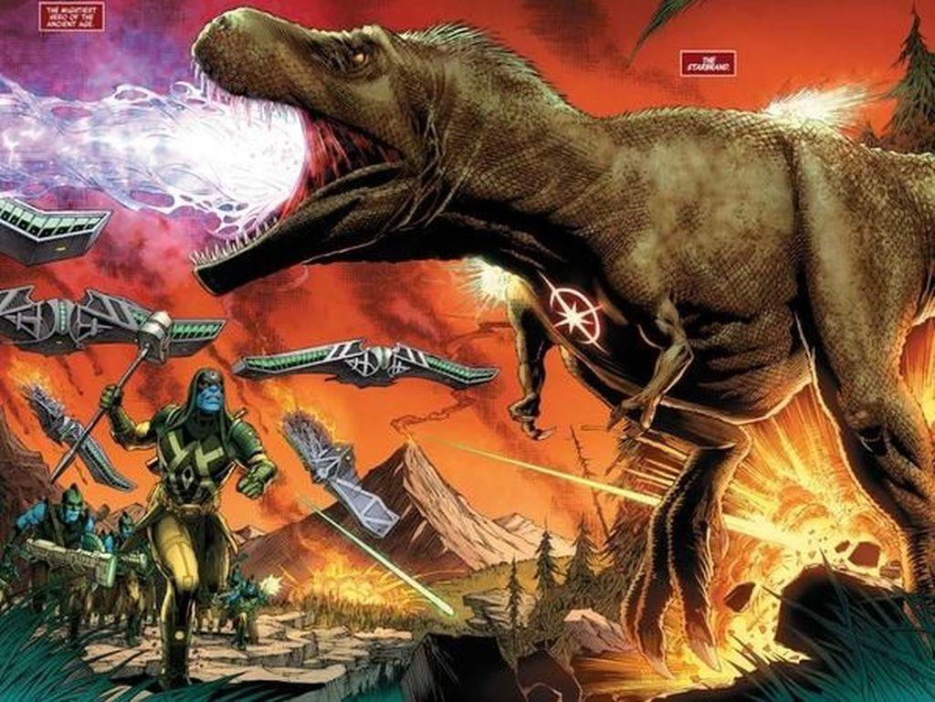 Ini Superhero Pertama Marvel Comics dari 66 Juta Tahun yang Lalu