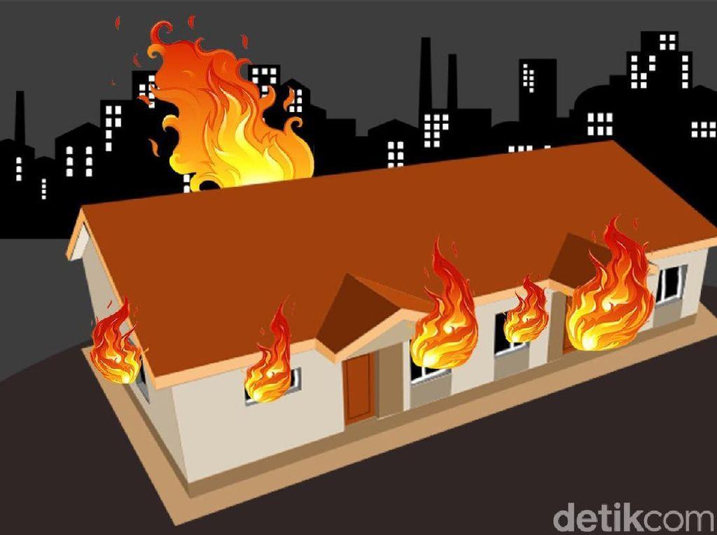 Madrasah di Batujajar Bandung Barat Terbakar, Ujian Siswa Ditunda