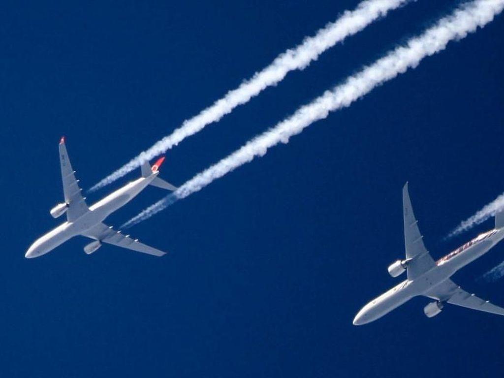 Ilmuwan Kasih Tahu Bikin Emisi Pesawat Tak Terlalu Berbahaya