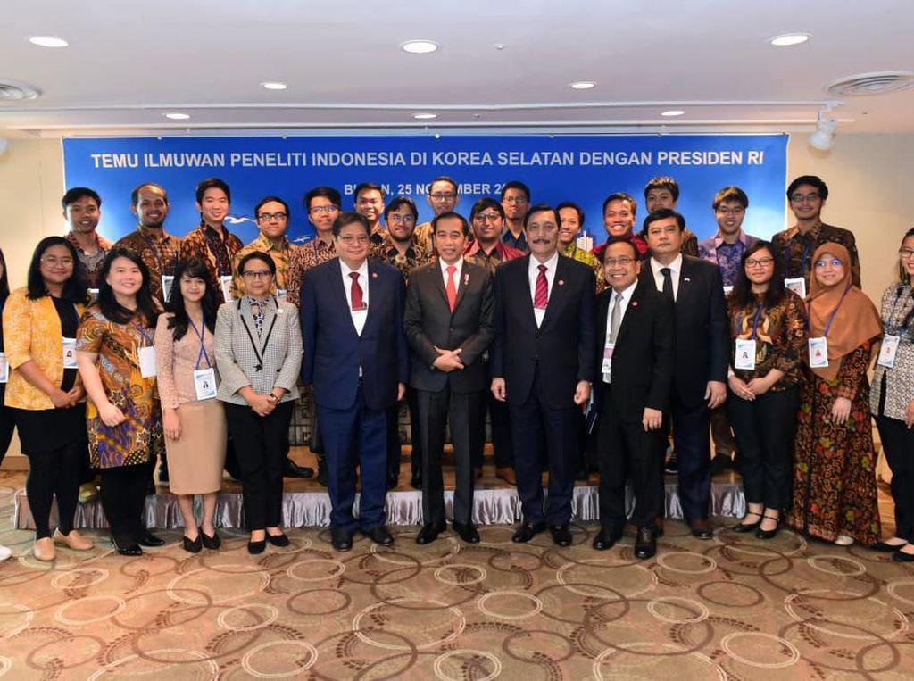 Jokowi Ajak Peneliti Muda RI di Korsel Bangun Tanah Air