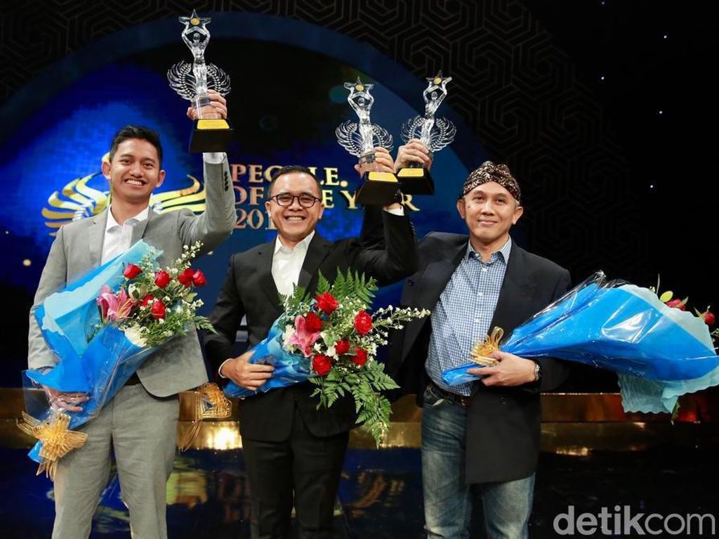 Bupati Anas Raih Government Officer of the Year