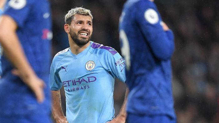 Manchester City tertinggal sembilan poin dari Liverpool di puncak klasemen. (Foto: Michael Regan / Getty Images)