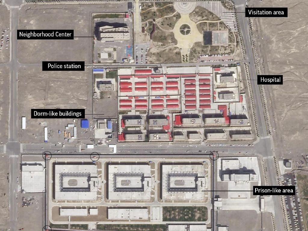 Prancis Serukan China Hentikan Penahanan Massal Sewenang-wenang di Xinjiang