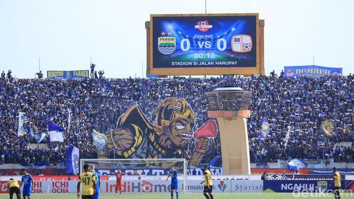 Persib Bandung diimbang 0-0 oleh Barito Putera (Wisma Putra/detikSport)