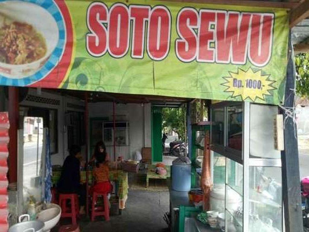 Viral Jual Soto Rp 1.000, Pemiliknya Bisa Untung Jutaan Rupiah Setiap Hari