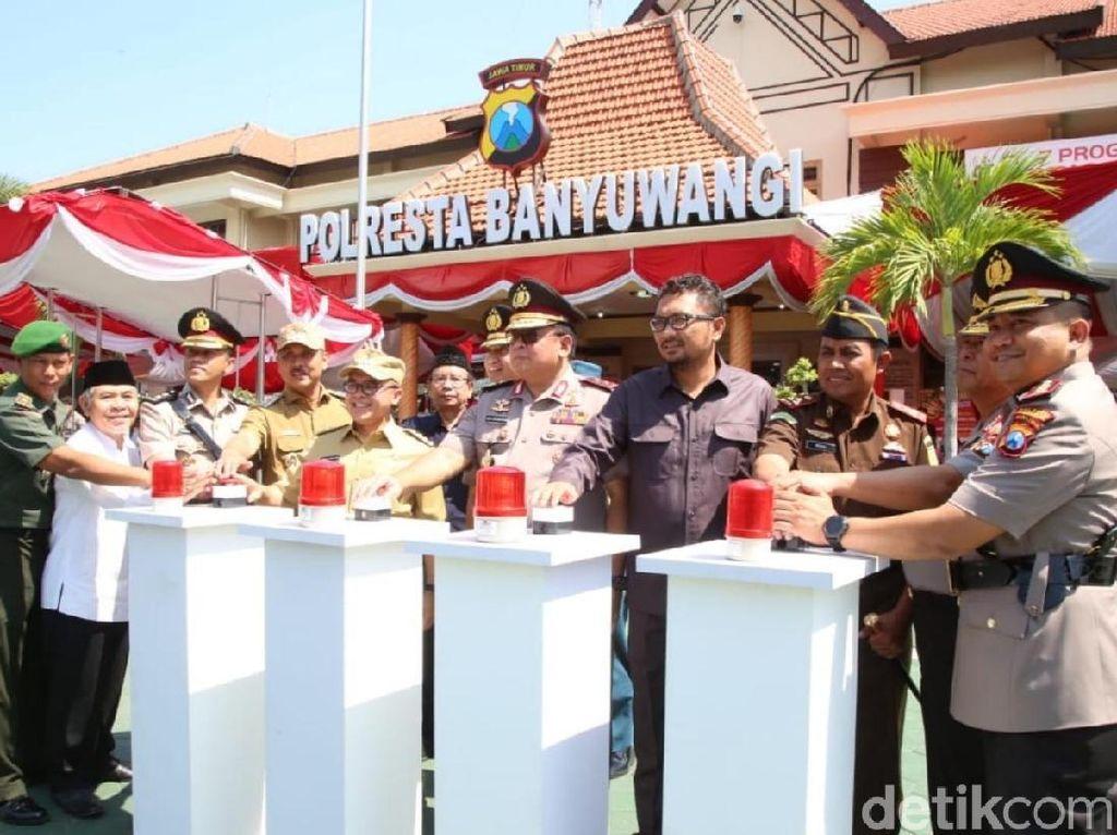 Kapolda Jatim Kukuhkan Polres Banyuwangi Jadi Polresta