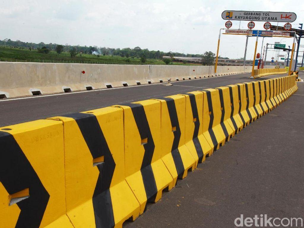 Bulan Depan Tol Palembang-Kayu Agung Mulai Operasional