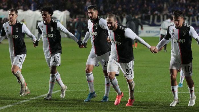Juventus tetap memuncaki klasemen sementara Liga Italia. Foto: Emilio Andreoli/Getty Images