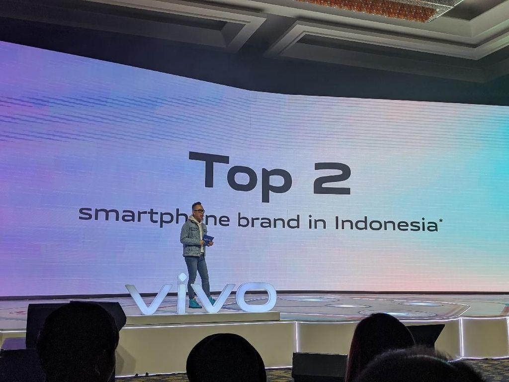 Raih Posisi 2 di Indonesia, Vivo Kasih 3 Bonus Buat Konsumen