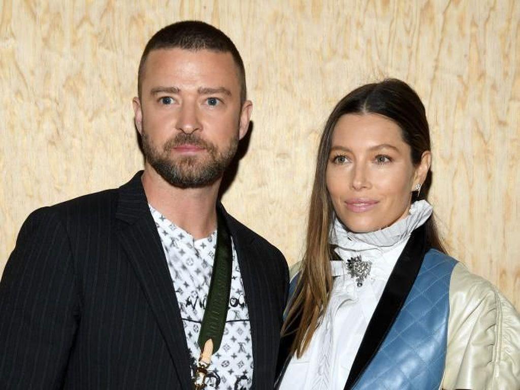 Justin Timberlake dan Jessica Biel Diam-diam Sambut Kelahiran Anak Kedua