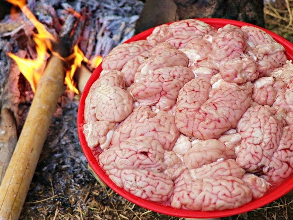 Otak Kambing hingga Daging Rusa, Ini Menu Sarapan yang Menyeramkan