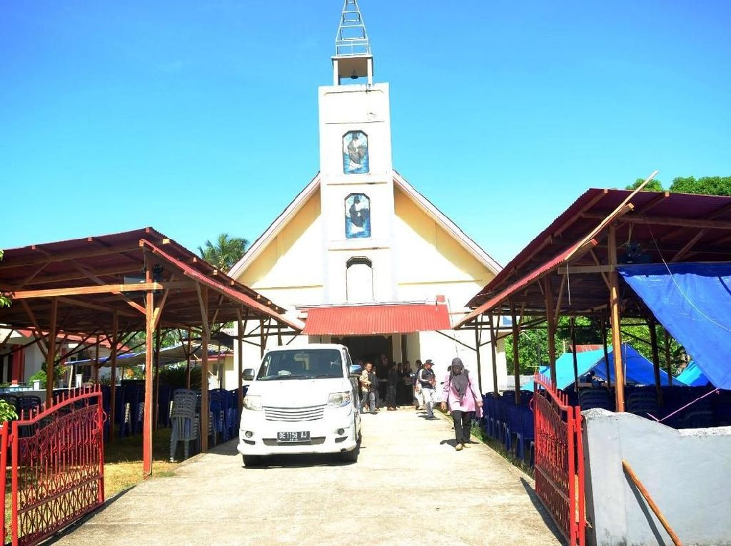 Pakai Lonceng, Gereja Ini Bantu Warga Pulang Usai Gempa Ambon M 6,5