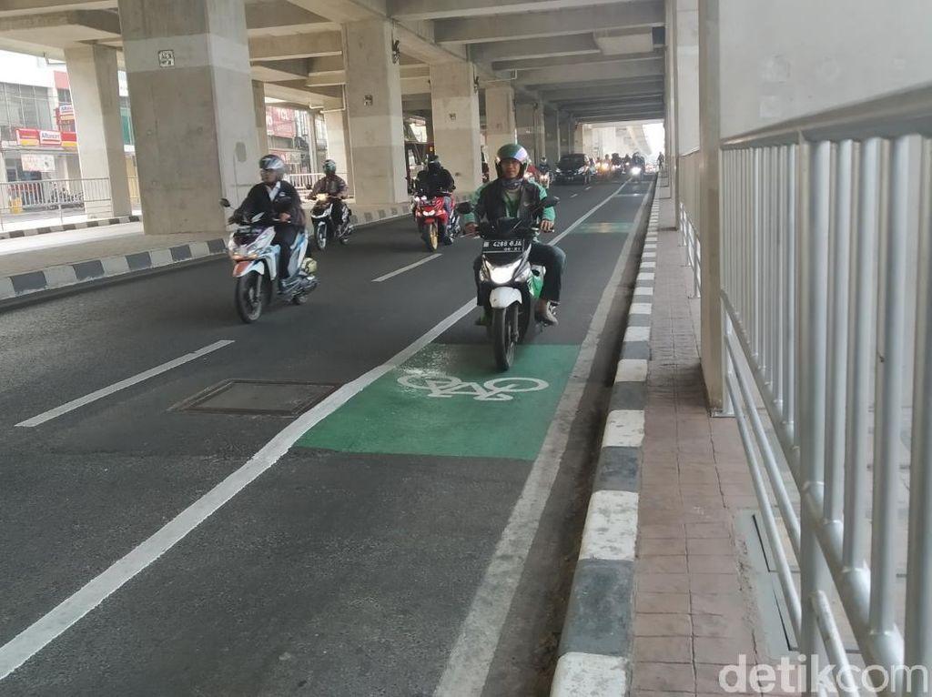 Biar Nggak Ditilang, Ini Jalanan Jakarta yang Ada Lajur Sepeda