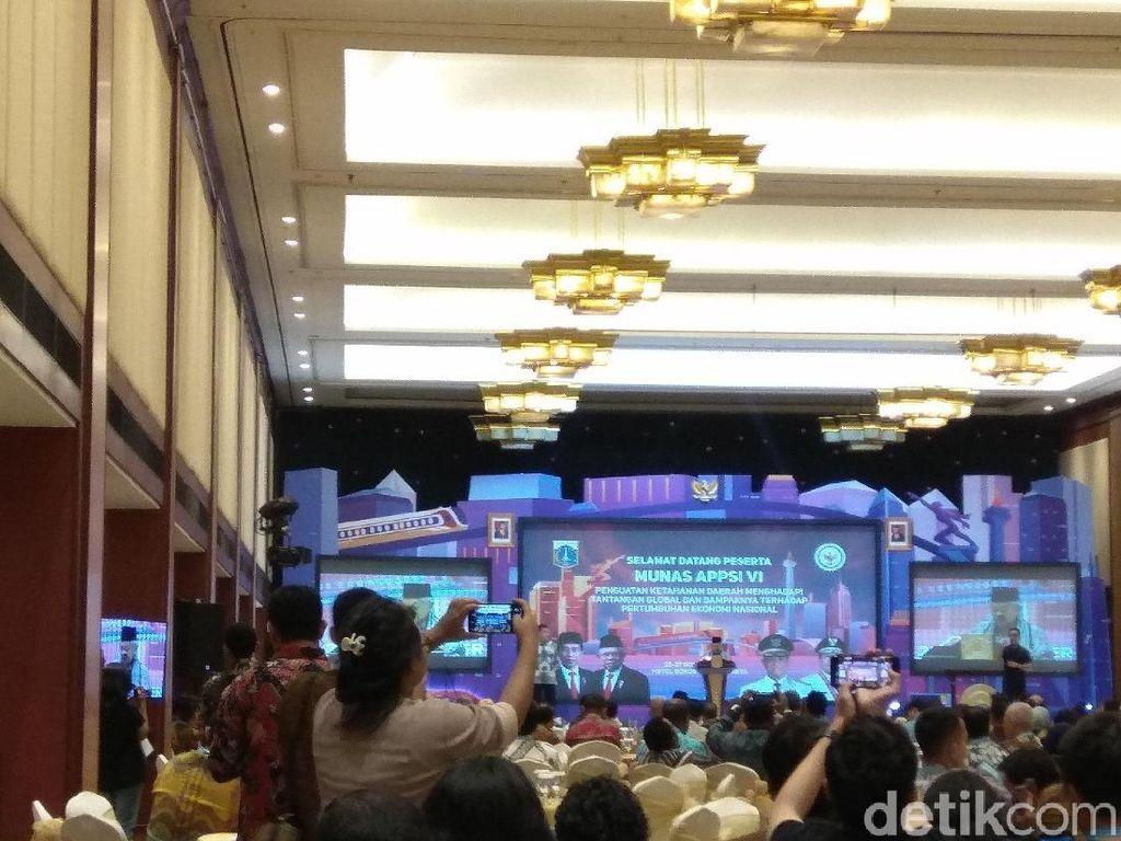 Buka Munas APPSI, Maruf Minta Gubernur Sukseskan Visi-Misi Jokowi