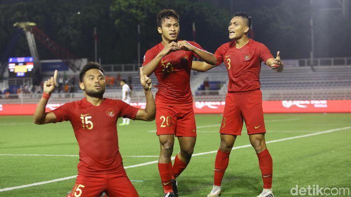Timnas Indonesia tersubur dan paling sedikit kebobolan di SEA Games 2019. (Foto: Grandyos Zafna/detikcom)