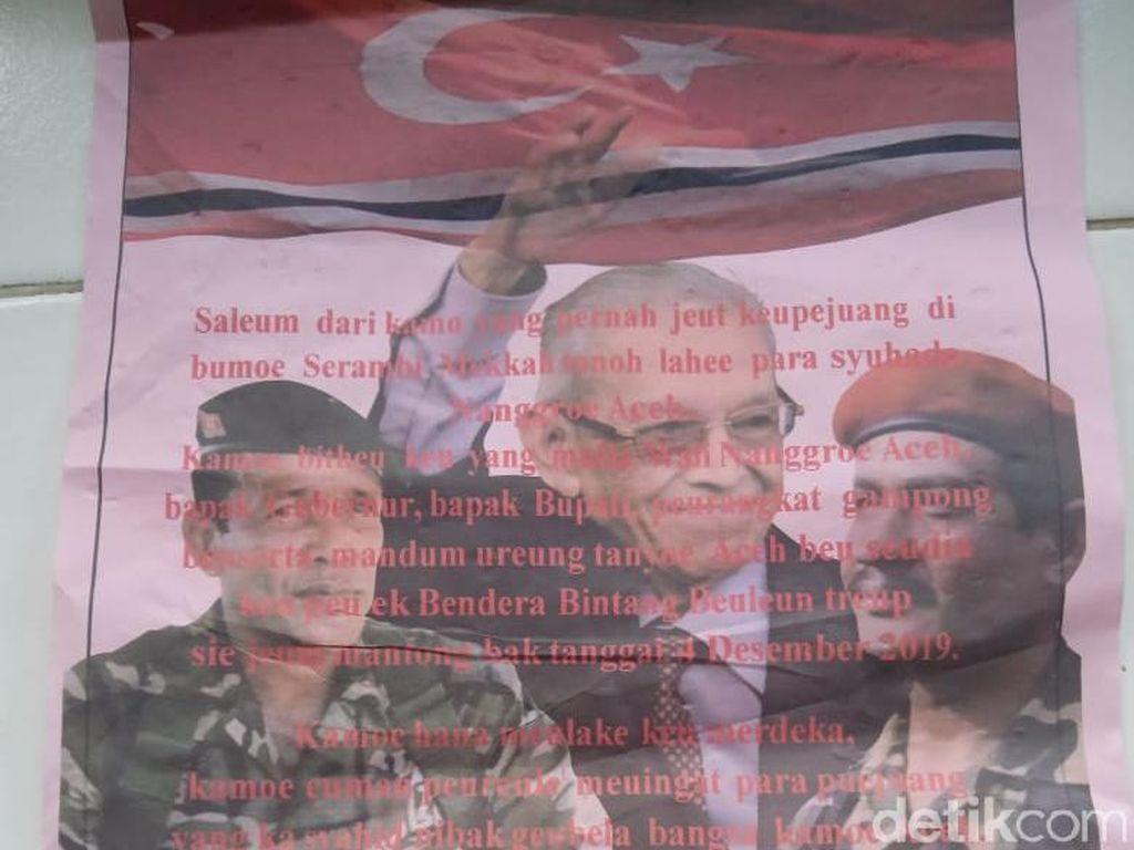 Beredar Seruan Pengibaran Bendera Bulan Bintang saat HUT GAM, KPA: Hoax!