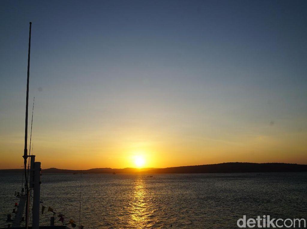 Sunset di Kupang Sekeren Ini