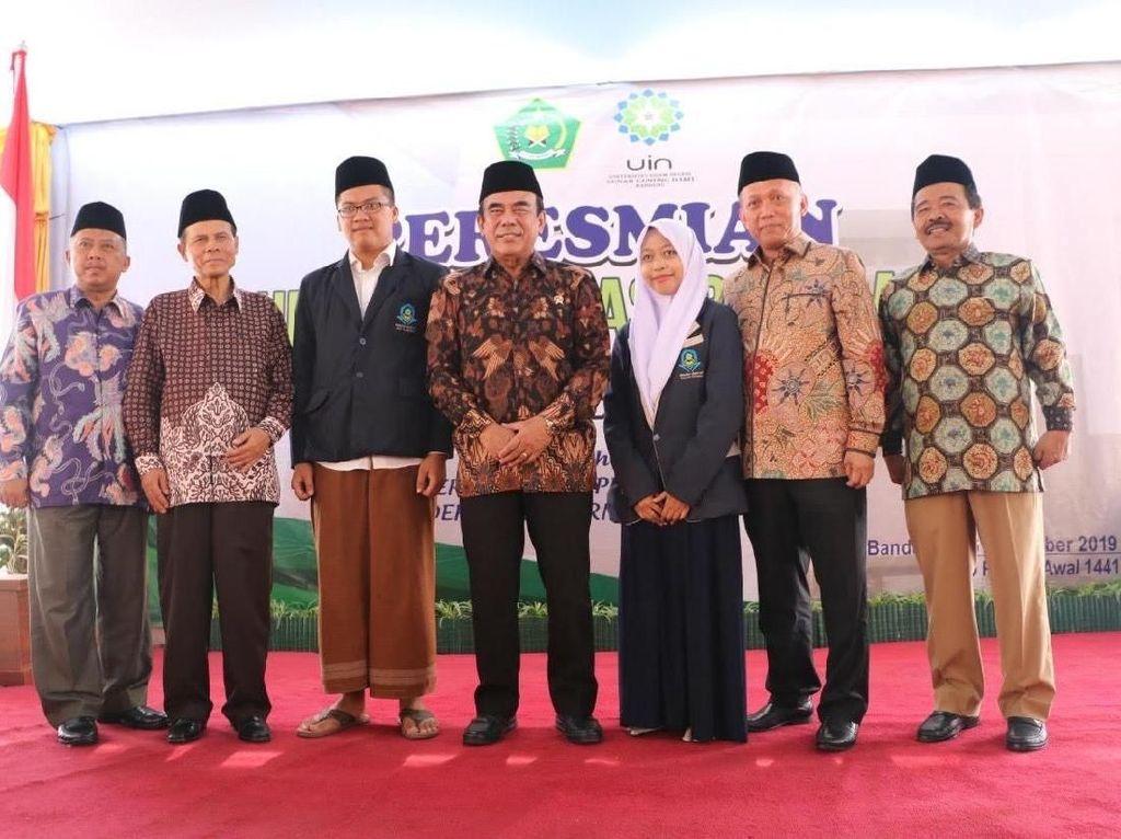 UIN Bandung Bangun Rumah Moderasi, Menag: Harus Ditularkan