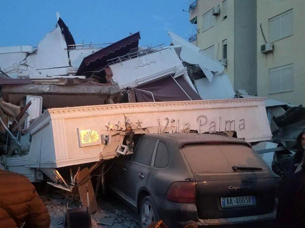 Gempa M 6,4 Guncang Albania, 6 Orang Tewas dan 300 Lainnya Luka