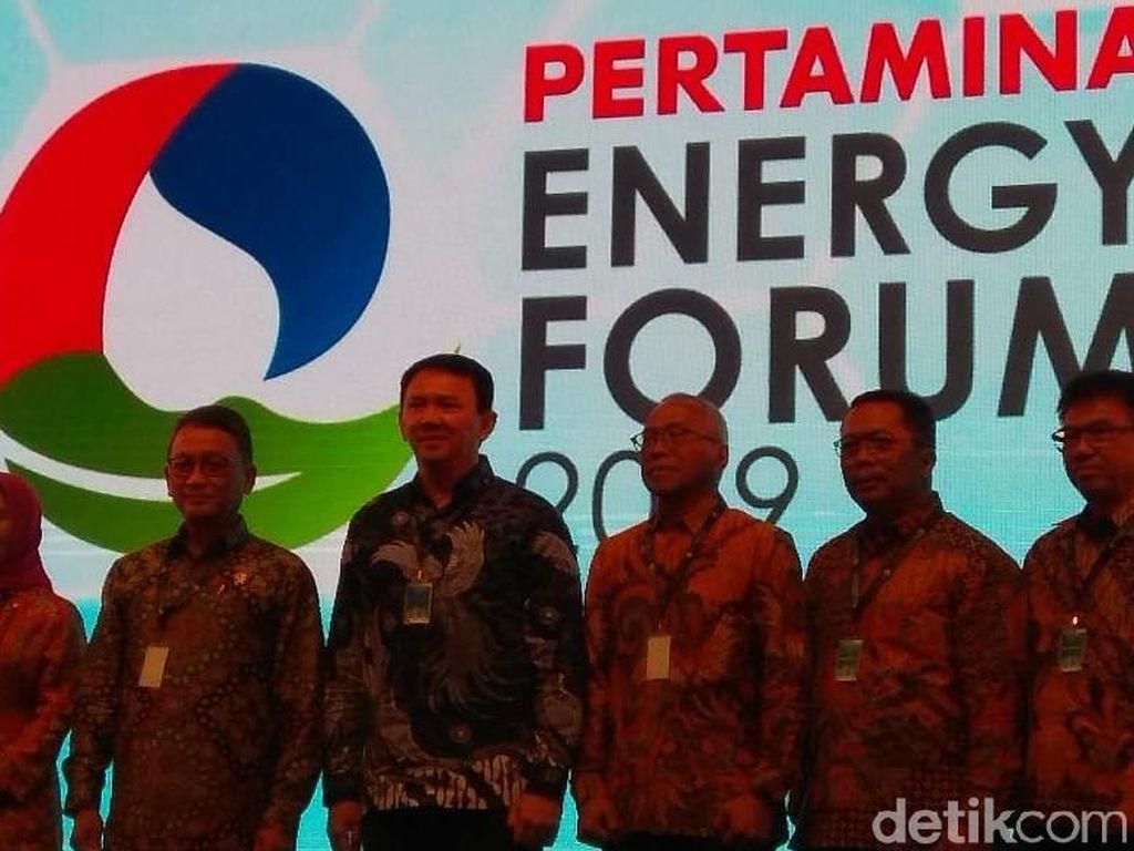 Pertama Kali Sejak Dilantik, Ahok Hadir di Diskusi Energi Pertamina