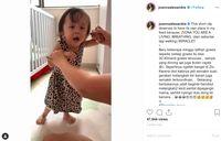 Keajaiban! Idap Penyakit Langka, Putri Joanna Alexandra Mulai Berjalan