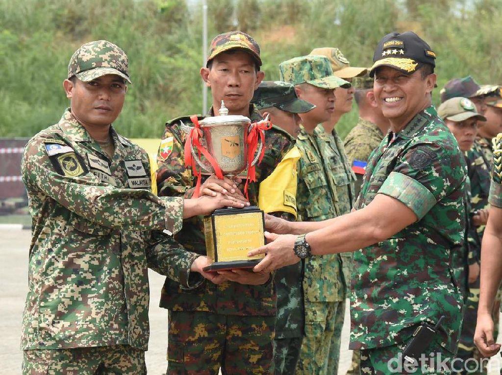 AARM Ajang Persahabatan Tentara di ASEAN