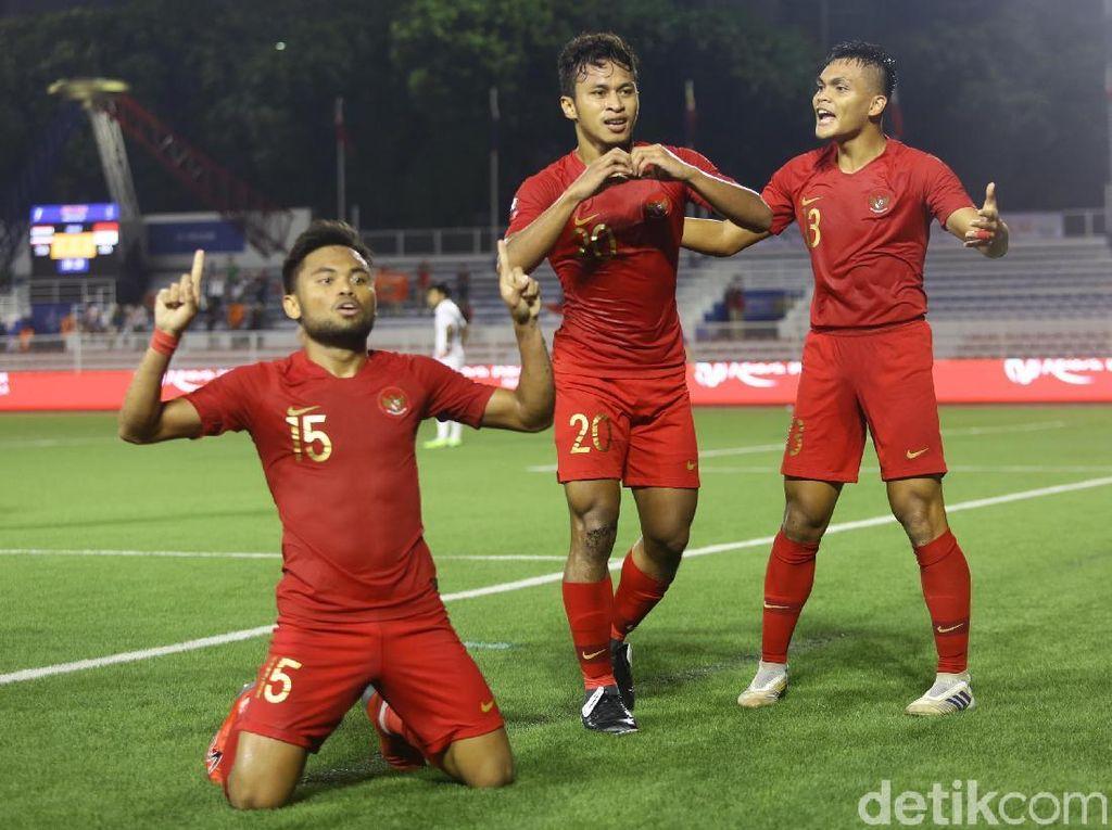 Babak Pertama, Indonesia Ungguli Laos 1-0