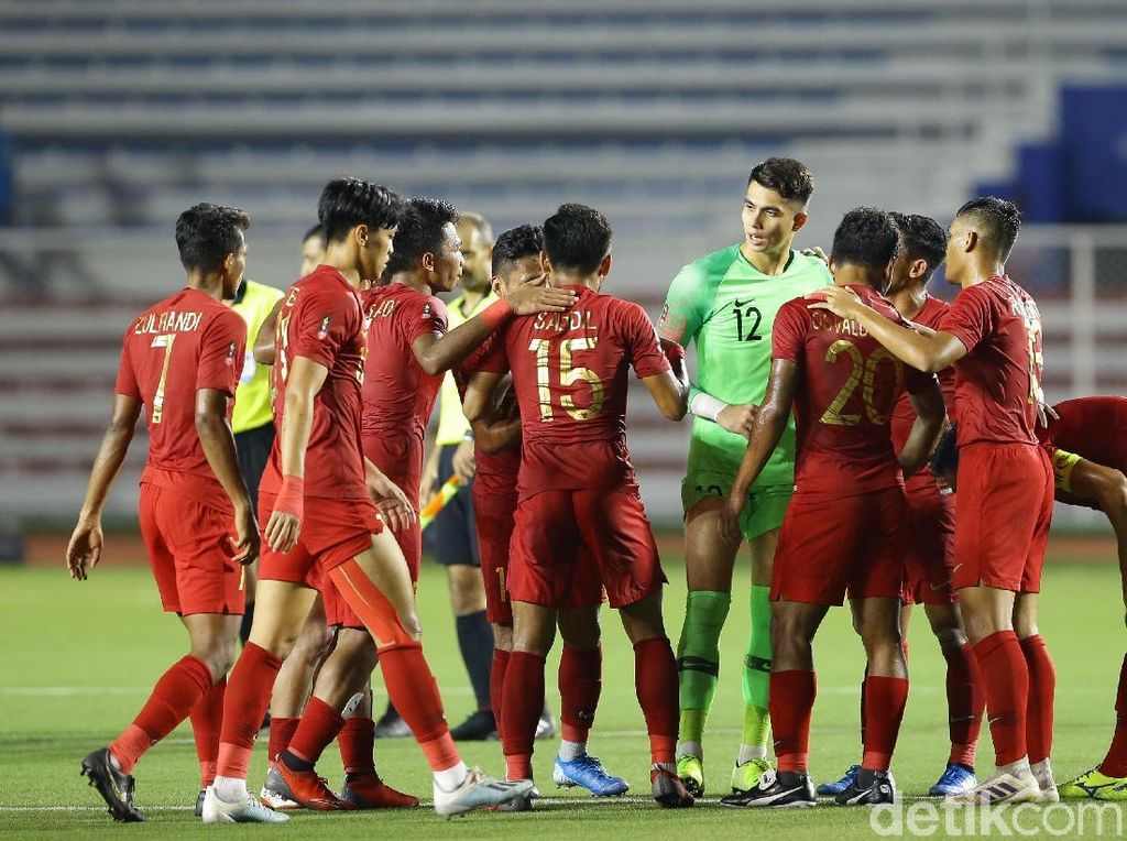 Indonesia Ditahan Singapura Tanpa Gol di Babak Pertama