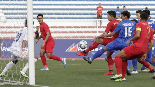 Selisih gol Timnas Indonesia U-23 masih kalah dari Thailand.