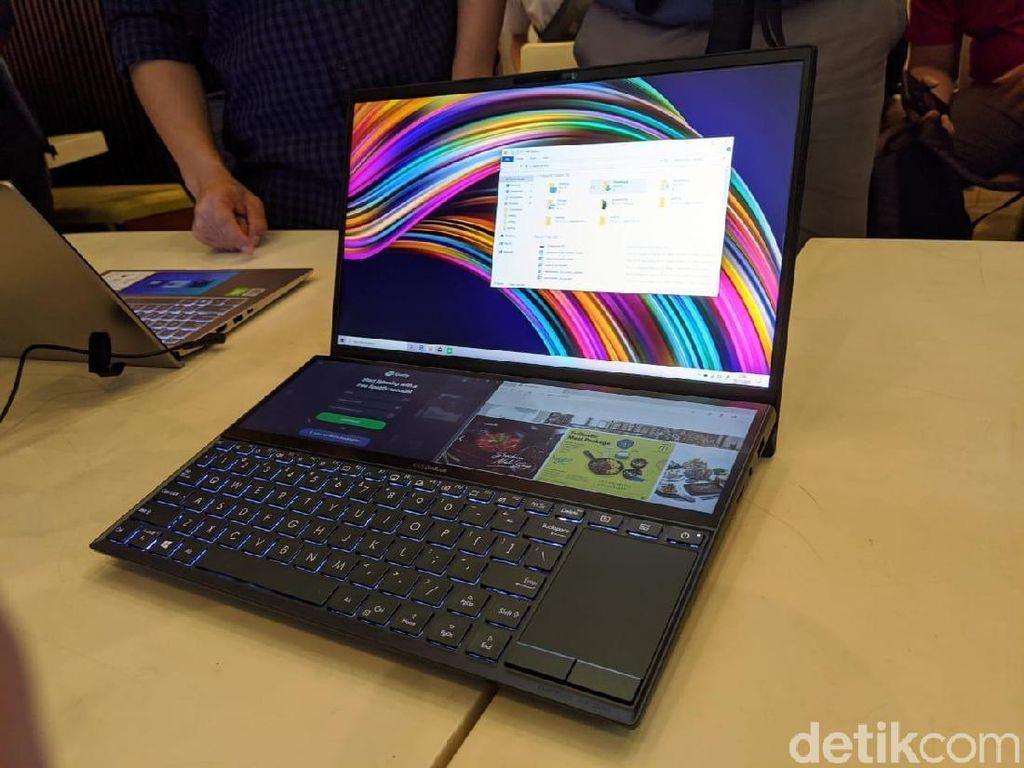 Saingi MacBook Pro, Laptop Asus Menggoda Pakai Layar Ganda