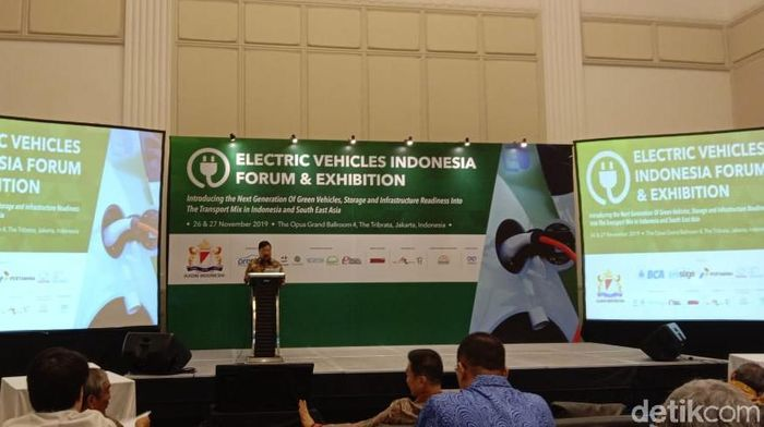 Foto: Diskusi kendaraan listrik (Anisa Indraini-detikcom)