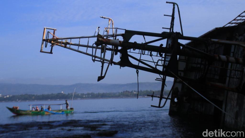 Foto: Kapal yang Dulu Ditenggelamkan Susi Kini Jadi Spot Selfie