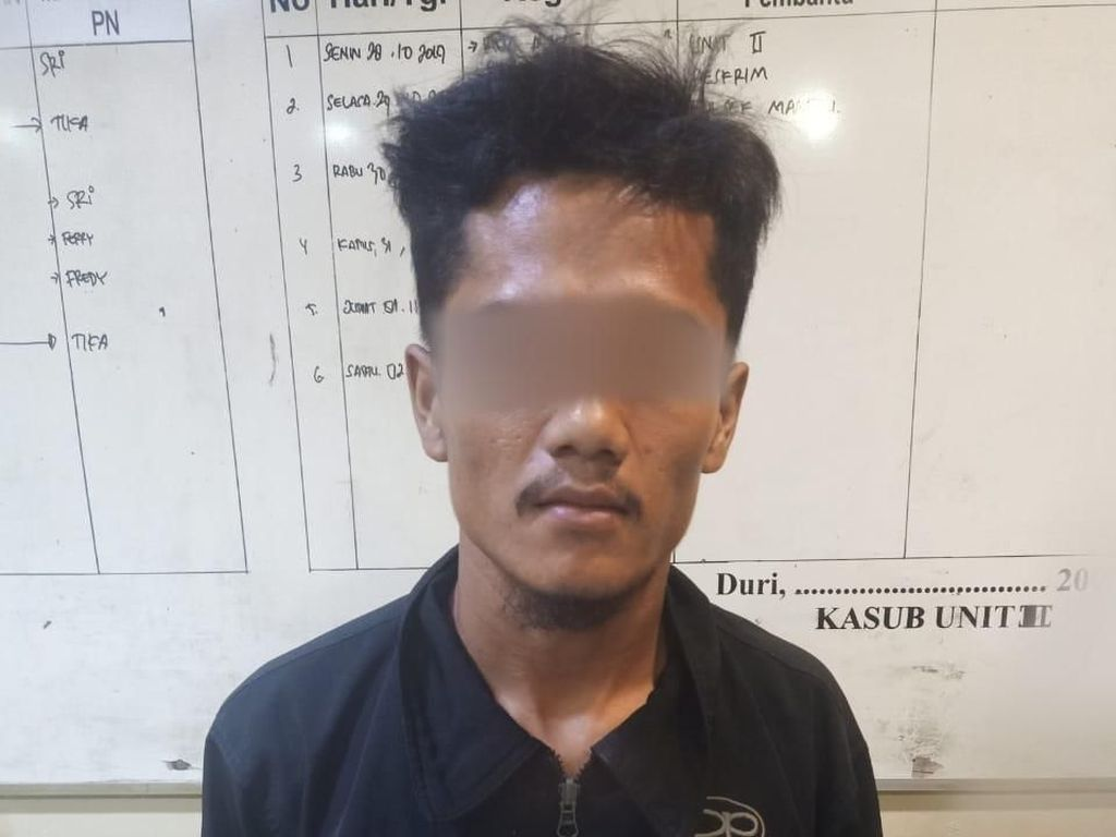 Pelaku Begal Payudara di Riau Ditangkap